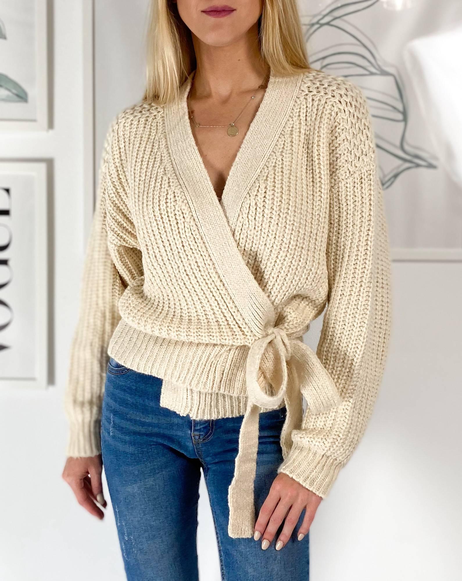 Sweter Elen Cream